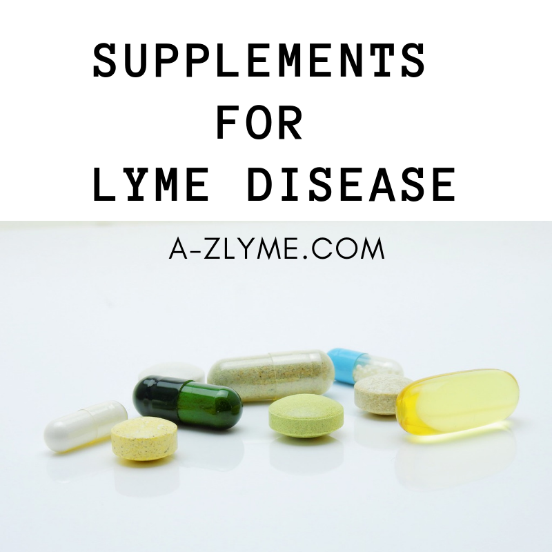 supplements for lyme disease